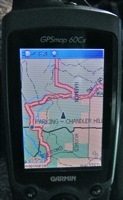 gps screen